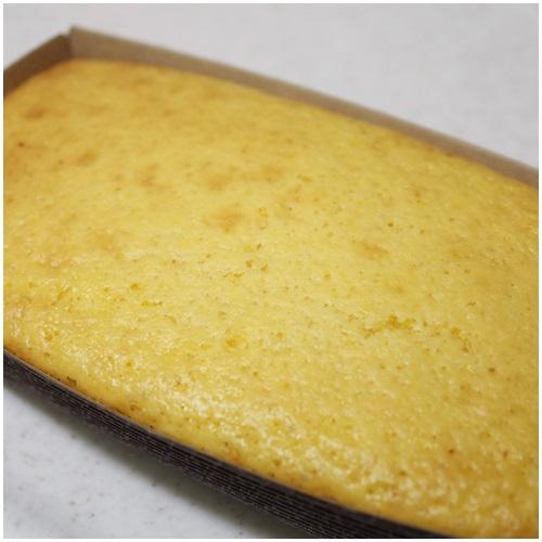 レモンケーキ焼いた