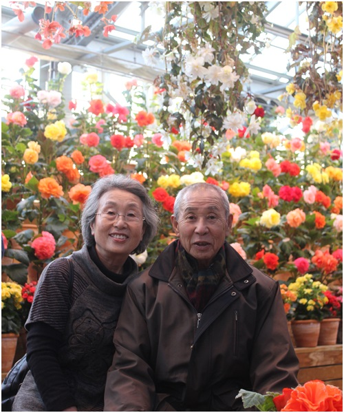 ガーデンの両親