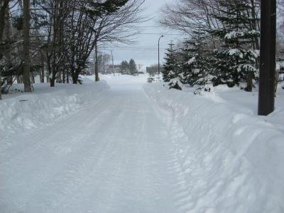 9年ぶりの寒い冬