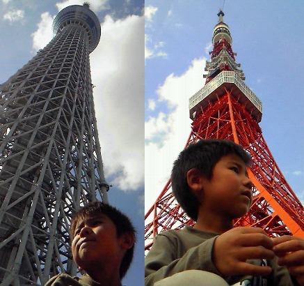 スカイツリー&東京タワー2