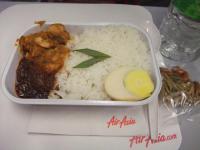 エアアジア機内食2