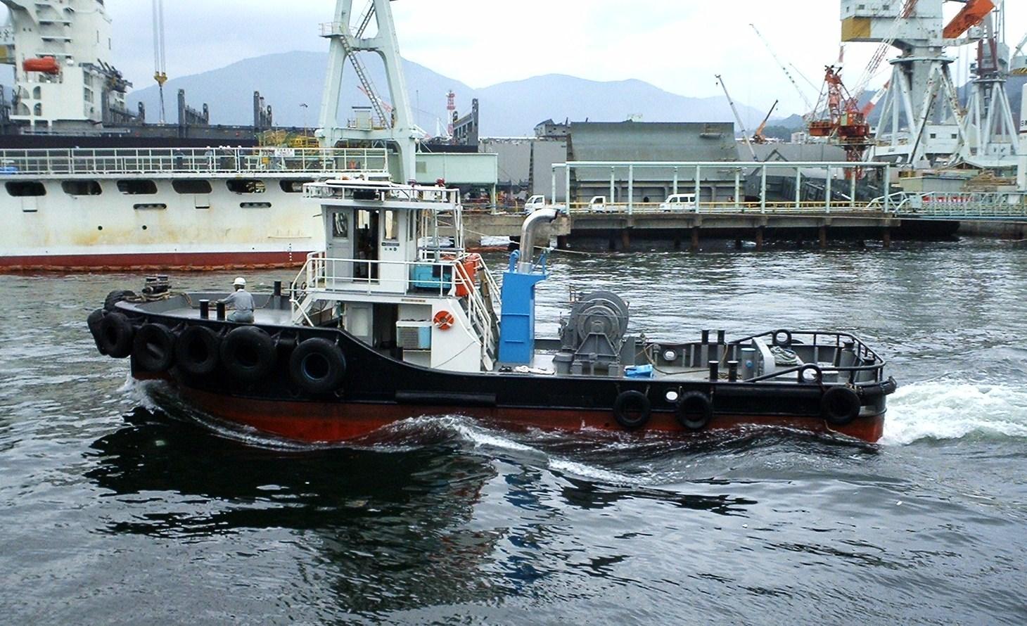 """写真日記 小型タグボート""""第三東..."""