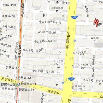 足道養生会館地図