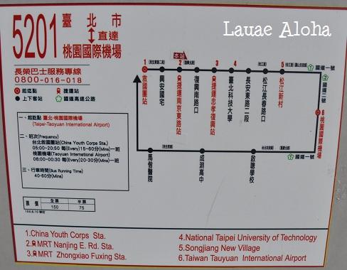 5201系統バス路線図