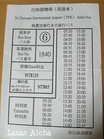 1840系統時刻表