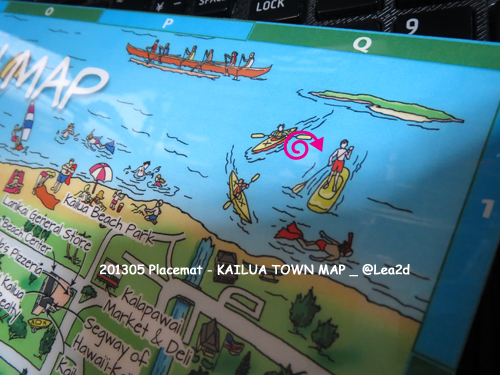 201305 KAILUA TOWN MAP - Placemat