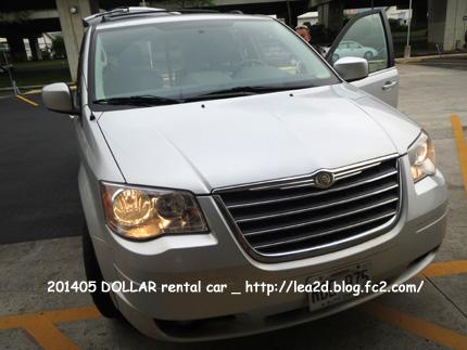 201305 DOLLAR rental car