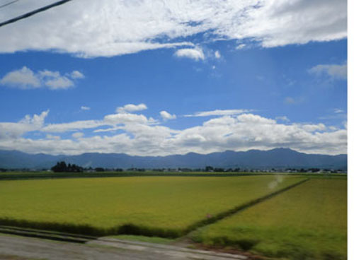 新幹線の車窓から⑤