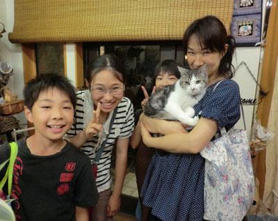 猫好き家族