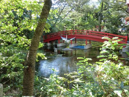 CIMG553八幡神社の橋