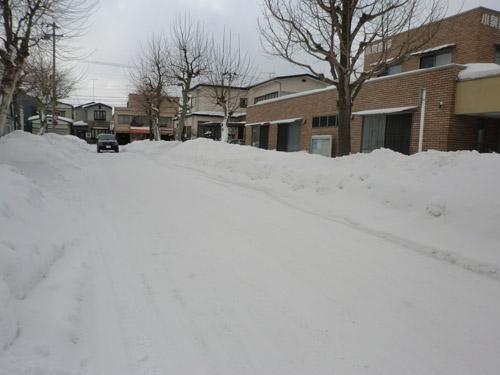 2013-1-28青空と雪景色④
