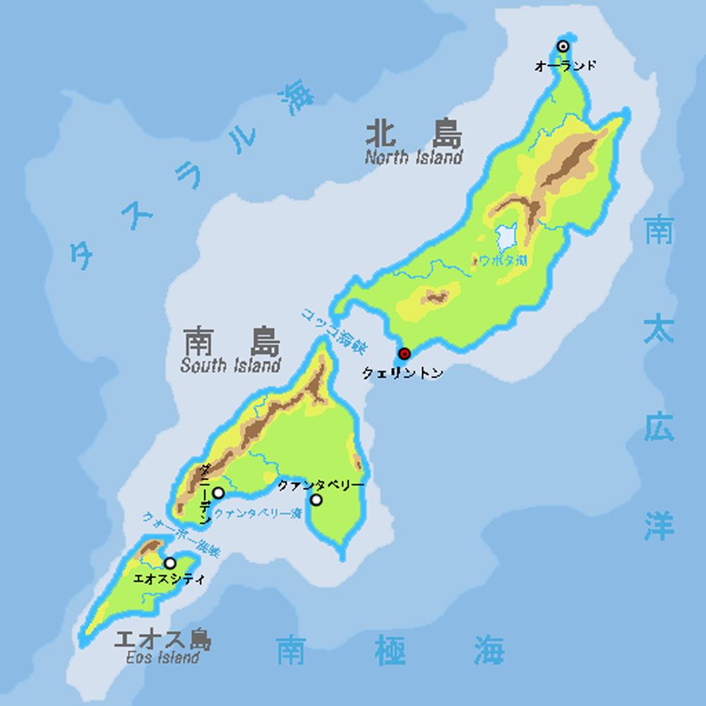 国内の地図