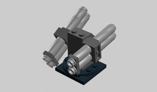 4連対潜ロケット砲-2