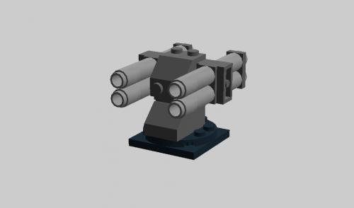 4連対潜ロケット砲-1