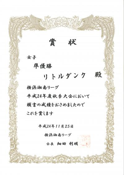 20121125_ysleague_women_second_place_convert_20121127083120.jpg