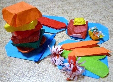 折り紙のレストラン