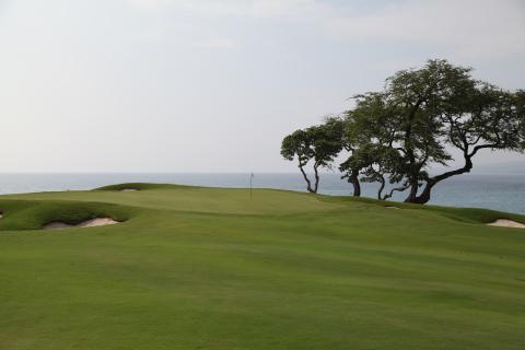 マウナケア ゴルフ 海に向かって打て!