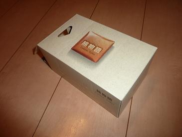 コットンパフ箱