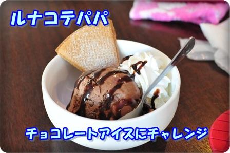 チョッコレートアイス