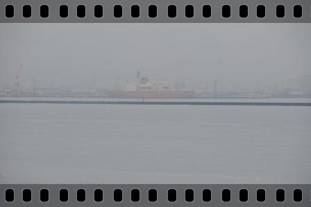 函館港に着いた