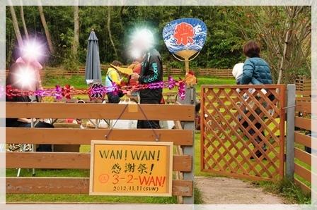 WANWAN感謝祭エントランスデコ
