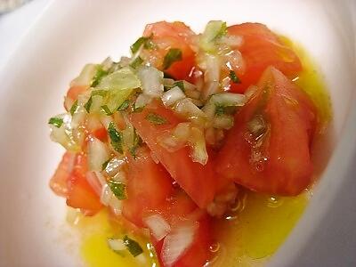 5-3 トマトの冷製サラダ