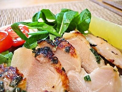 6-1 鶏モモ 塩麹漬