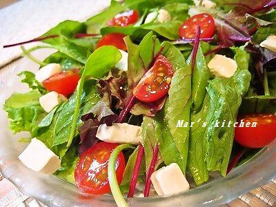 6-28 クリームチーズ野菜サラダ