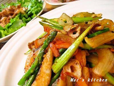 7-7 イサキの中華炒め