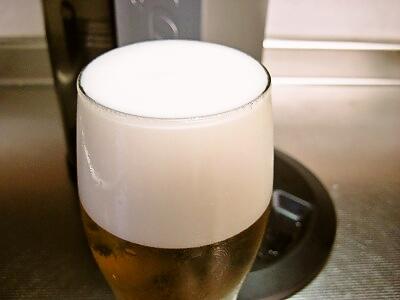 ビール 泡