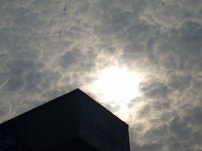 21日金環日食の朝4