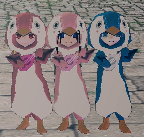 ペンギン三人衆