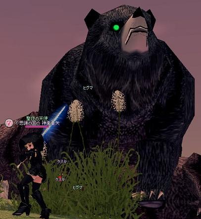 でかい!巨大クマ!