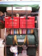 【必見キャンプ生活】 キャンプ道具収納スチールラック(メタルラック)DIY地震対策転倒防止
