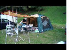 【必見キャンプ生活】 キャンプ道具コールマン2ルームテント(ラウンドスクリーン2ルームハウス)キャノピー3方向