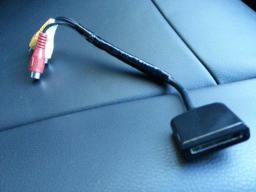 【車快適生活】 iPodDockケーブルDIY自作DOCKコネクタオスをRCAメスに変換(フリードに搭載)
