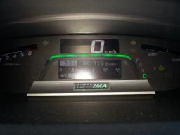 ホンダフリード ハイブリッド 燃費記録 19.6km/L