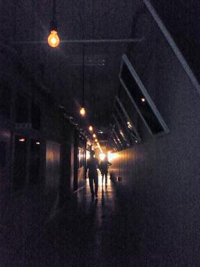 最後の学級廊下