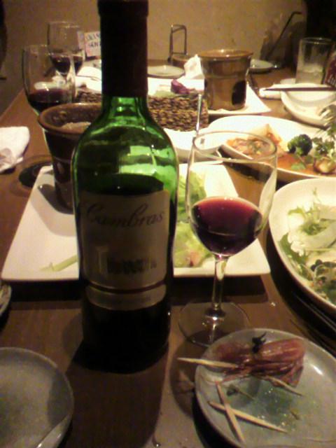 ワインまで