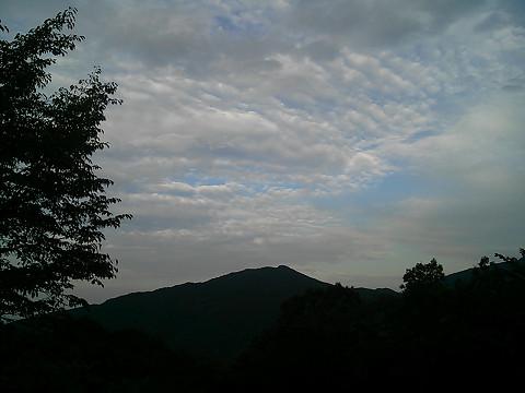 夕刻の定峰峠