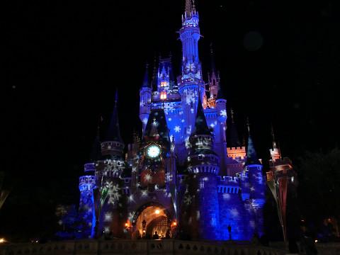 夜のシンデレラ城2