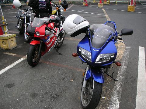 VFRとSV650
