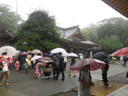 七五三 砥鹿神社