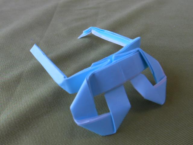 折り紙眼鏡