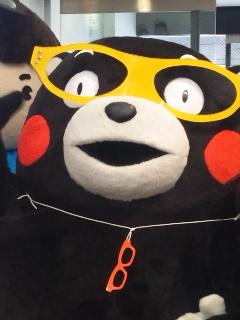 くまもん+眼鏡