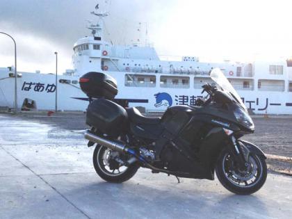 大間港より函館へ