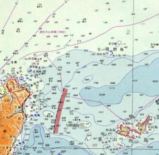 尖閣 1965年10月由台灣國防研究院與中國地理學研究所合編出版的世界地圖集第一冊東亞諸國中,將釣魚台列嶼畫為日本領土寫成日本名尖閣群島