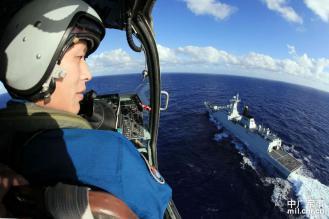 中国東海2411-12 航拍舟山號導彈護衛艦