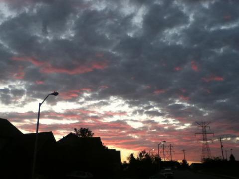 日の出前②