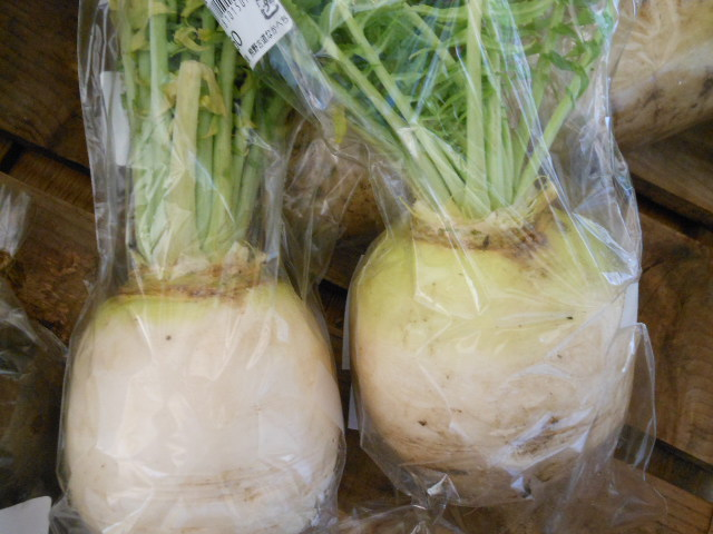 土付きお野菜の比較1